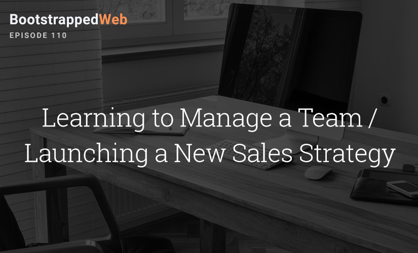[110] Learning to Manage a Team / Launching a New Sales Strategy