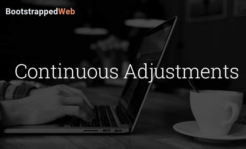 Continuous Adjustments
