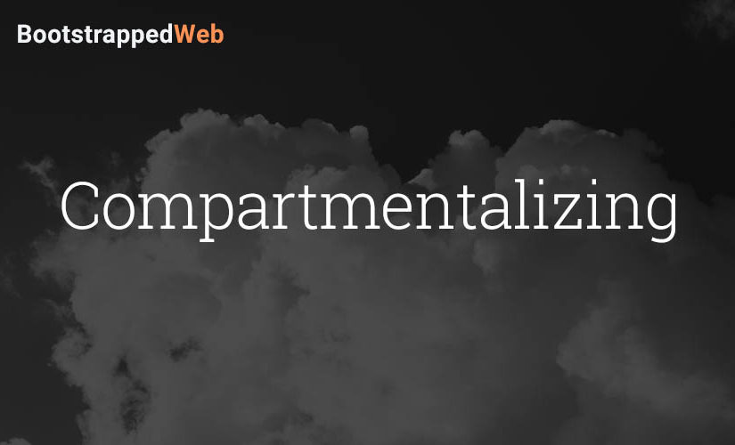 Compartmentalizing