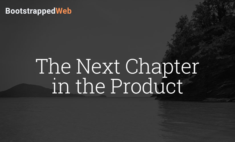 The Next Chapter in the Product