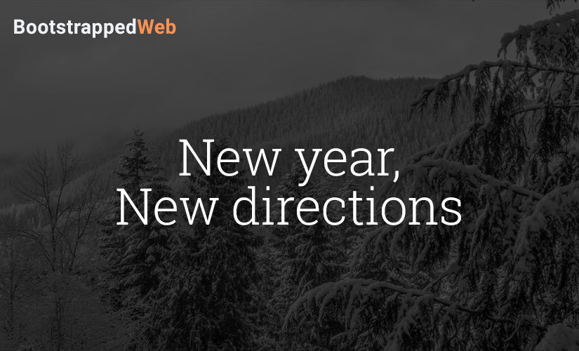 New year, new directions